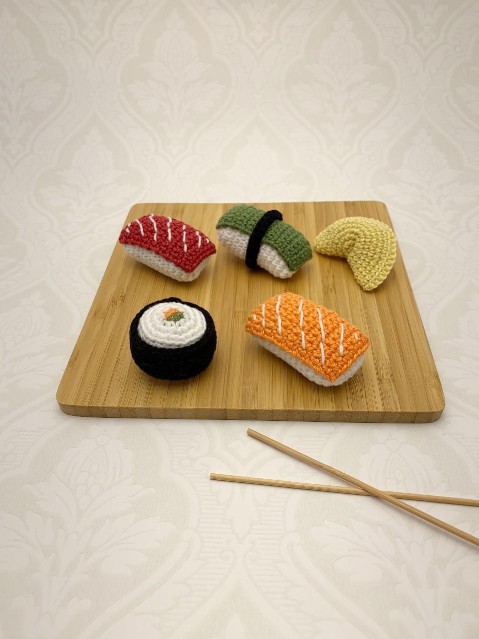 Virkad sushi